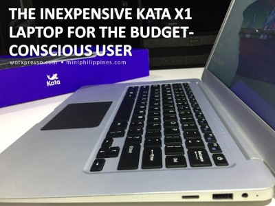 The Inexpensive Kata X1 Laptop for the Budget-Conscious User 00